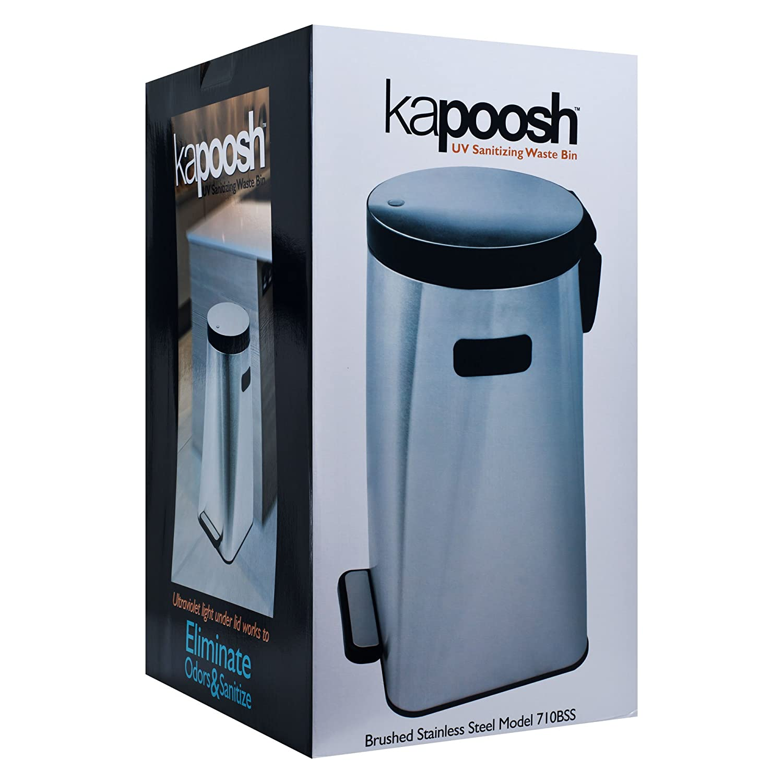 Amazon.com: Kapoosh UV Sanitizing Waste Bin: Kitchen & Dining
