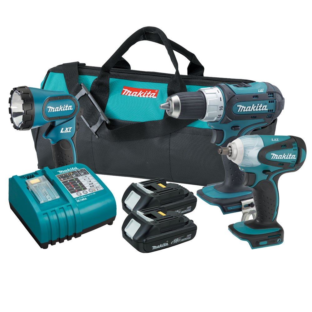 Makita LXT311H 18-Volt LXT Cordless Lithium-Ion 3-Piece Combo Kit Discontinued by Manufacturer