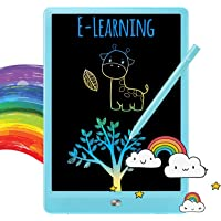 TEKFUN Doodle Board for Kids LCD Writing Tablet, 8.5in Drawing Board Writing Pad, Toddler Travel Gifts Toys for 3 4 5 6…