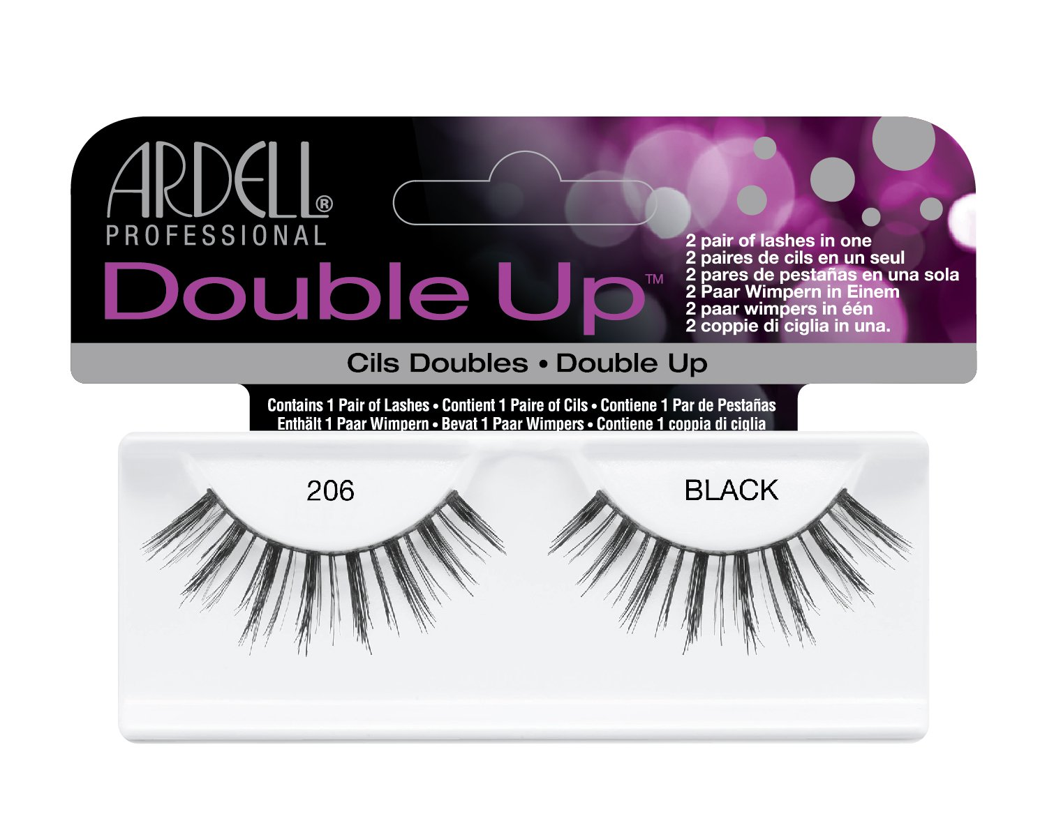 547a0af98da Amazon.com : Ardell Double Up Lashes, 206 : Fake Eyelashes And Adhesives :  Beauty