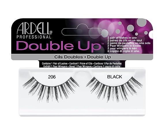 09fecc0beb1 ARDELL Double Up Lashes - Black 206: Amazon.co.uk: Beauty