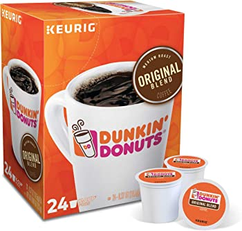 72-Count (3 x 24) Dunkin' Donuts Original Blend Coffee K-Cup Pods