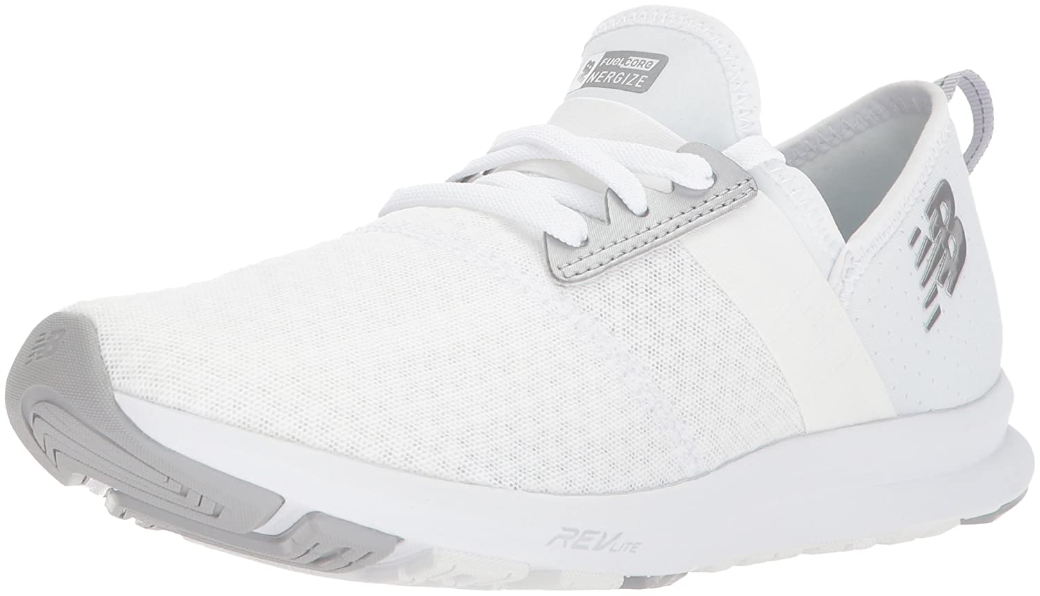 New Balance Women's FuelCore Nergize V1 Fuel Core Cross Trainer B06XSD3RDY 11 M US|White/White