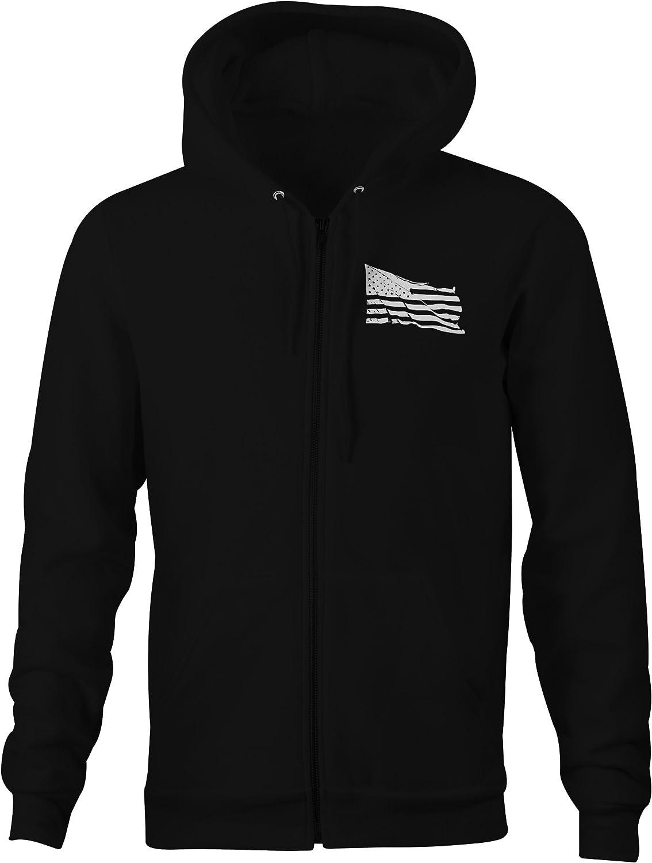 One Stop Services Zip Up Hoodie Molon Labe Spartan Sweatshirt Large