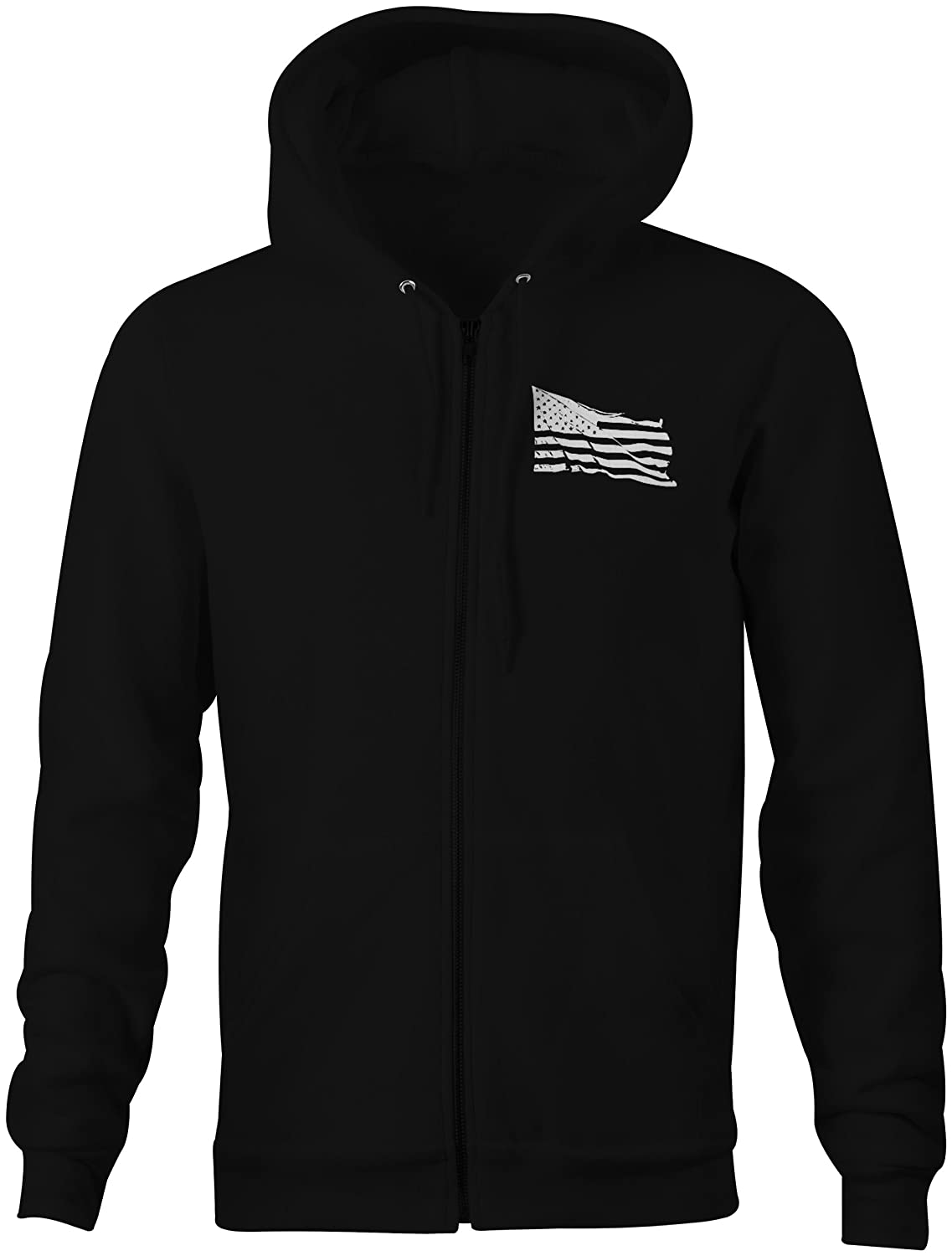 One Stop Services Zip Up Hoodie Molon Labe 2nd Amendment NRA Tactical Sweatshirt 3XL