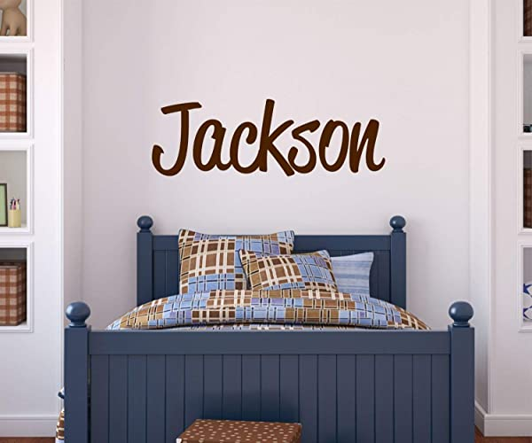 9cc01ecdbe79 Amazon.com  Boys Name Wall Decal - Personalized Name - Custom Wall ...