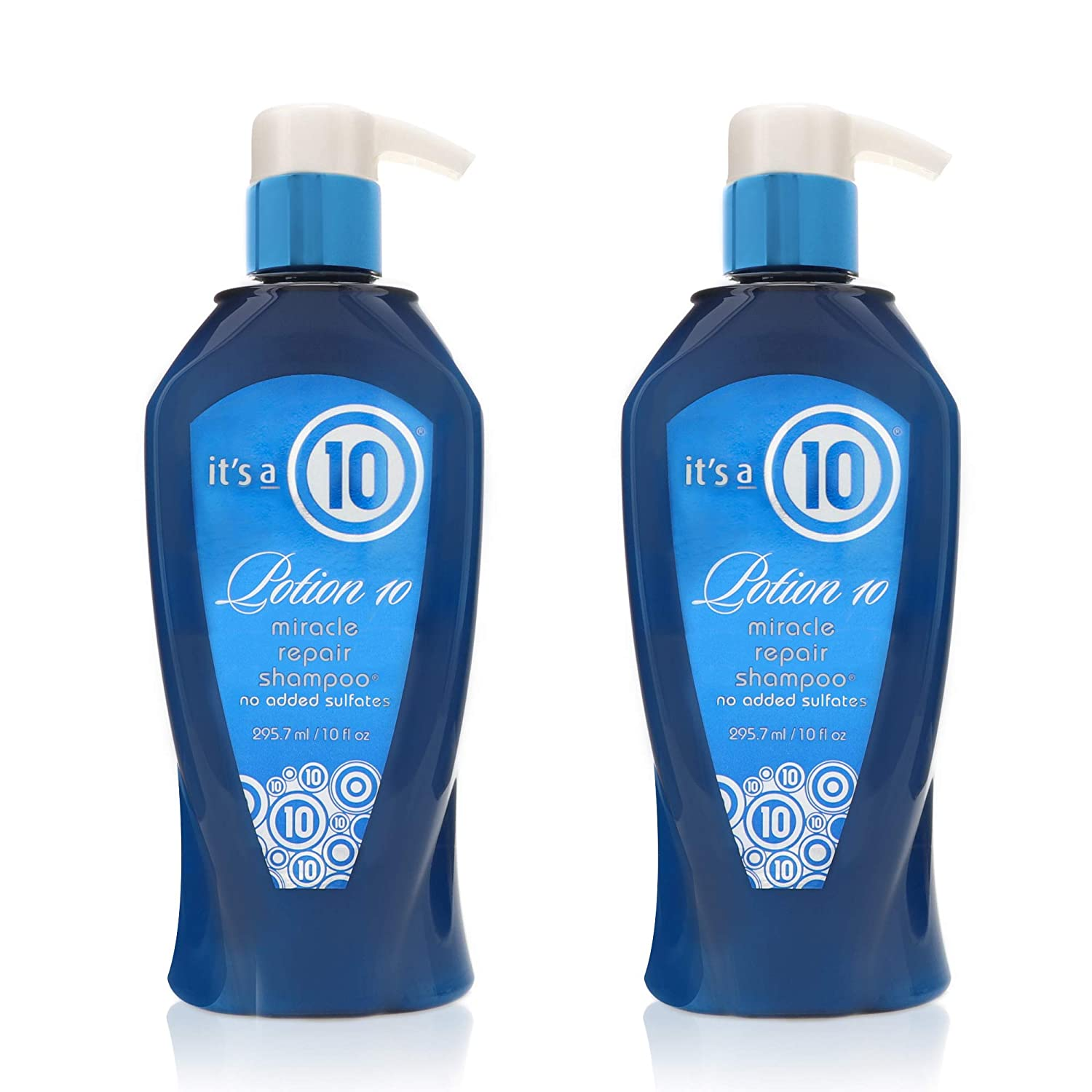 it's a 10 Haircare Potion 10 Miracle Repair Shampoo, 10 fl. oz. (Pack of 2)