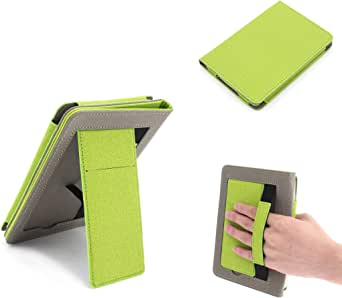 Buwico Multifunctional Protective Case Handheld Cover Case with Stand and Strap for Kindle Paperwhite 4/3 / 2/1 Ipad