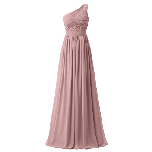 Ever Girl Womens Bridesmaid Chiffon Prom Dresses Long Evening Gowns