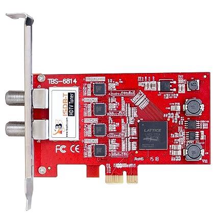 TBS ISDB-T Quad Tuner PCIe tarjeta TV Turner Live TV ...