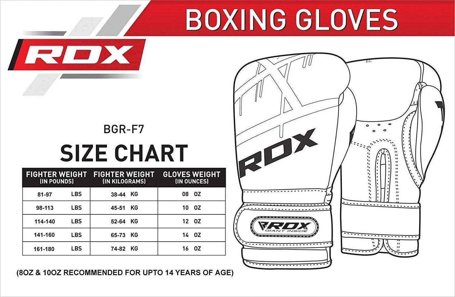 RDX Boxing Gloves for Training Muay Thai Maya Hide Leather Mitts for Fighting Focus Pads Sparring EGO Gloves for Punch Bag Kickboxing Thai Pad Grappling Dummy and Double End Ball Punching