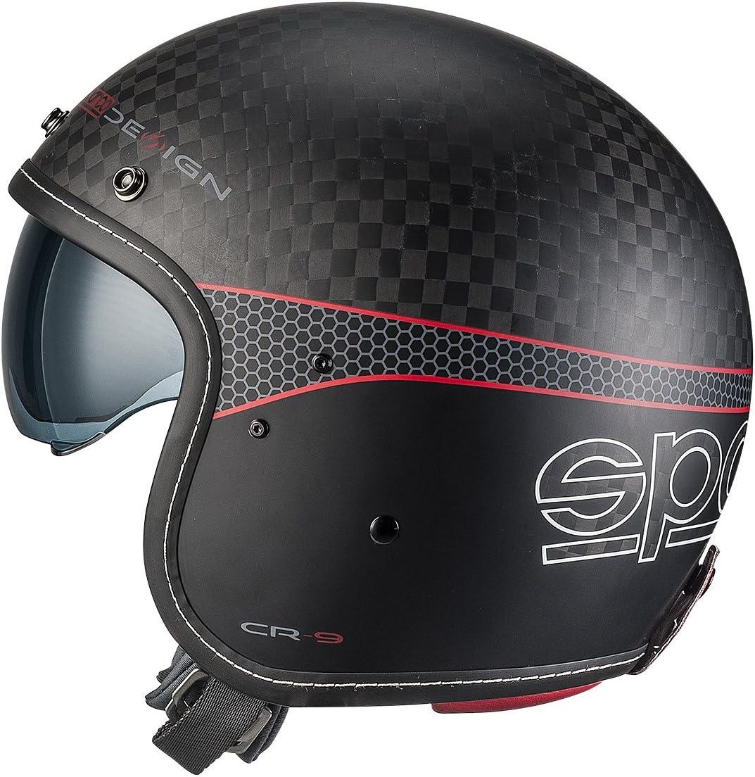 Sparco 0033411SNRRS Helme Cafe Racer S Carbon