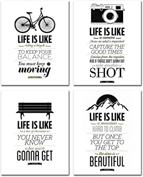 Biking 1 Print Motivation Quote Print Inspirational Picture Riding Sports Poster