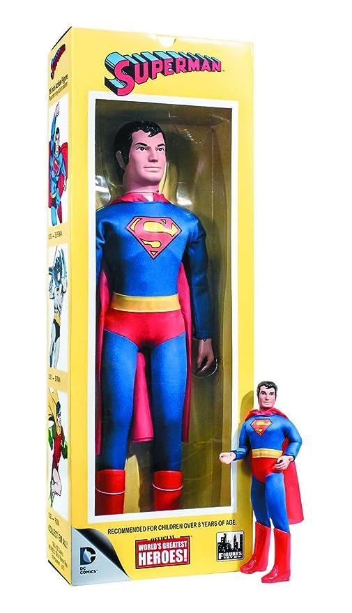 18 Figura Worlds Comics HeroesSuperman De Greatest Acción Dc Inch vYb7gfy6