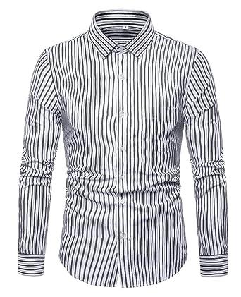 Men/'s Shirts Tops Plus Size Shirts Blouse Business Tops Work Button Down