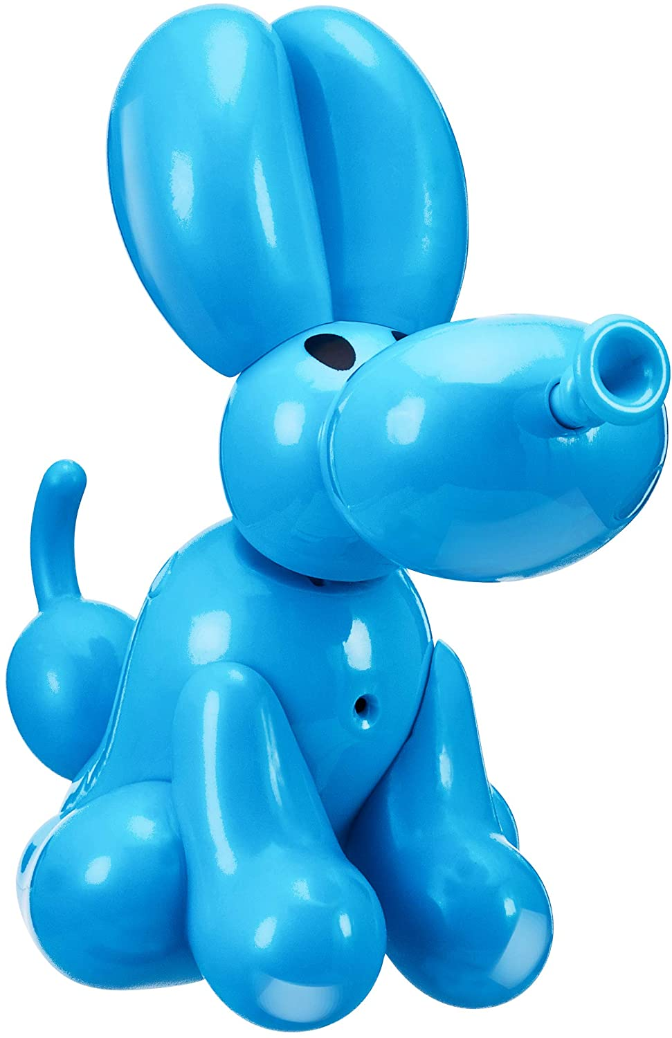 record /& playback with helium voice effect and demonstration batteries. 12302 Squeakee Minis Heelie Puppy interactive balloon toy
