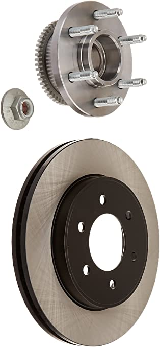 FRONT KIT Reliance *OE REPLACEMENT* Disc Brake Rotors *Plus Ceramic Pads F1398