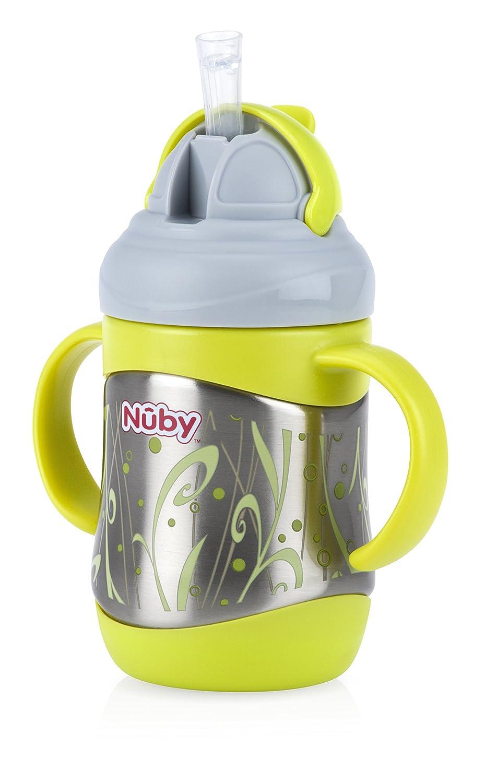 Nuby Edelstahl Flip It Cup, grü n Nuby UK 80219