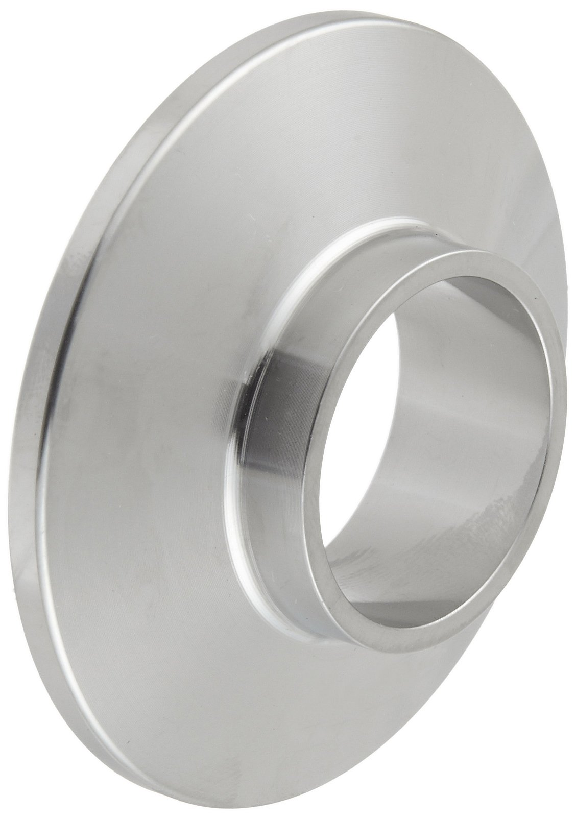 Dixon 14WMP-R100 Stainless Steel 316L Sanitary Fitting, Short Weld Clamp Ferrule, 1'' Tube OD