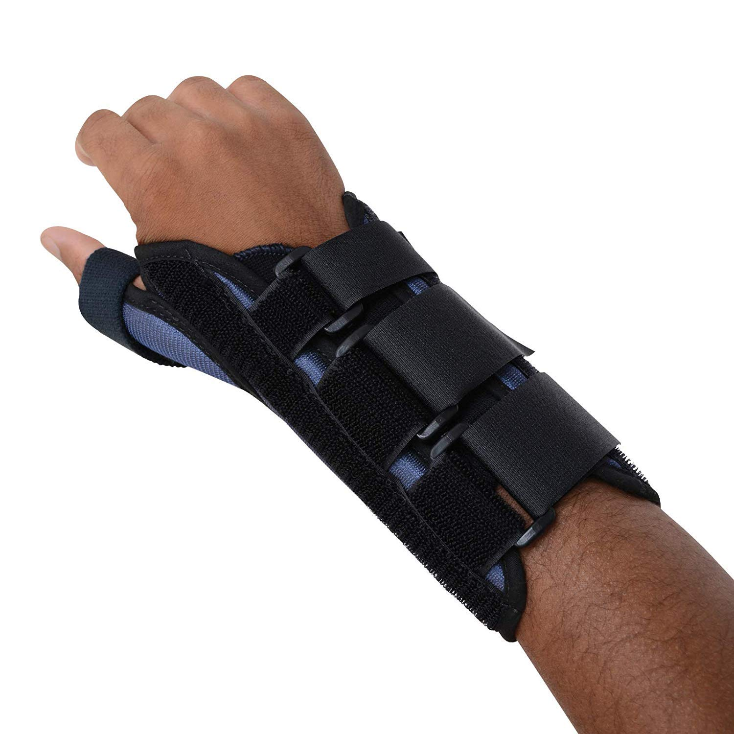 Sammons Preston Thumb Spica Wrist Brace, Thumb Splint, Wrist Splint for Wrist Support, Wrist Brace, Thumb Brace for CMC & MC Joints, Wrist Spica, Thumb Spica, Thumb Support, Right Hand, Small by Sammons Preston