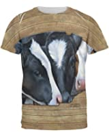 Queens of the Dairy Farm Cows All Over Mens T Shirt
