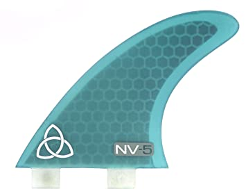 Naked Viking Surf – nv-5.2 multiherramienta de tabla de surf aletas, foiling II, mediano (3 unidades) aletas FCS & Futuro compatible