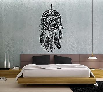 Wandtattoo Traumfänger Federn Hindu Vogel Om Yoga Sticker Vinyl Wall Decor  Fototapete Vinyl Schlafzimmer Wandtattoo Dekoration