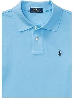 41f574620 RALPH LAUREN Big Boy Custom FIt Cotton Mesh Long Sleeve Polo Shirt Size L(14