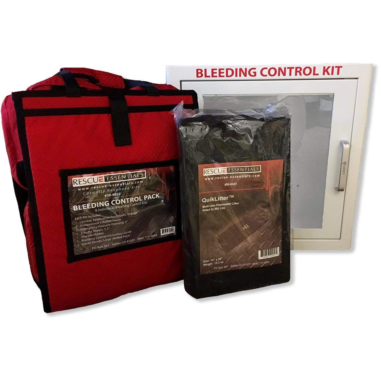 Bleeding Control Station Complete by Rescue Essentials
