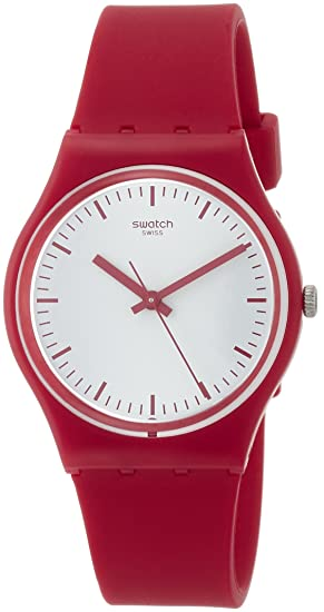 Swatch Reloj Digital para Mujer de Cuarzo con Correa en Silicona GR172: Amazon.es: Relojes