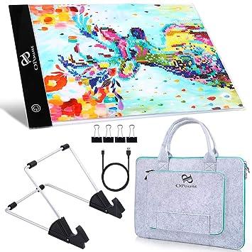 Amazon.com: PP OPOUNT - Juego de almohadillas para pintar ...