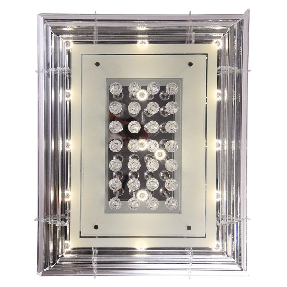 MCTECH® MCTECH® MCTECH® 90W Kristall Deckenleuchte Deckenbeleuchtung Deckenlampe Pendelleuchte LED Lampe Hängelampe (90W, Kaitweiß) d37bec