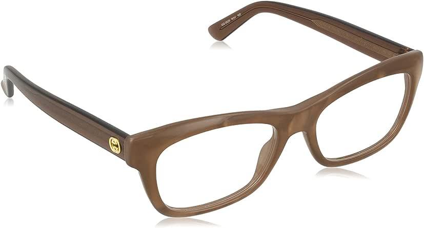Amazon.com: Gucci frame (GG-3825 R3V) Acetate Shiny Brown