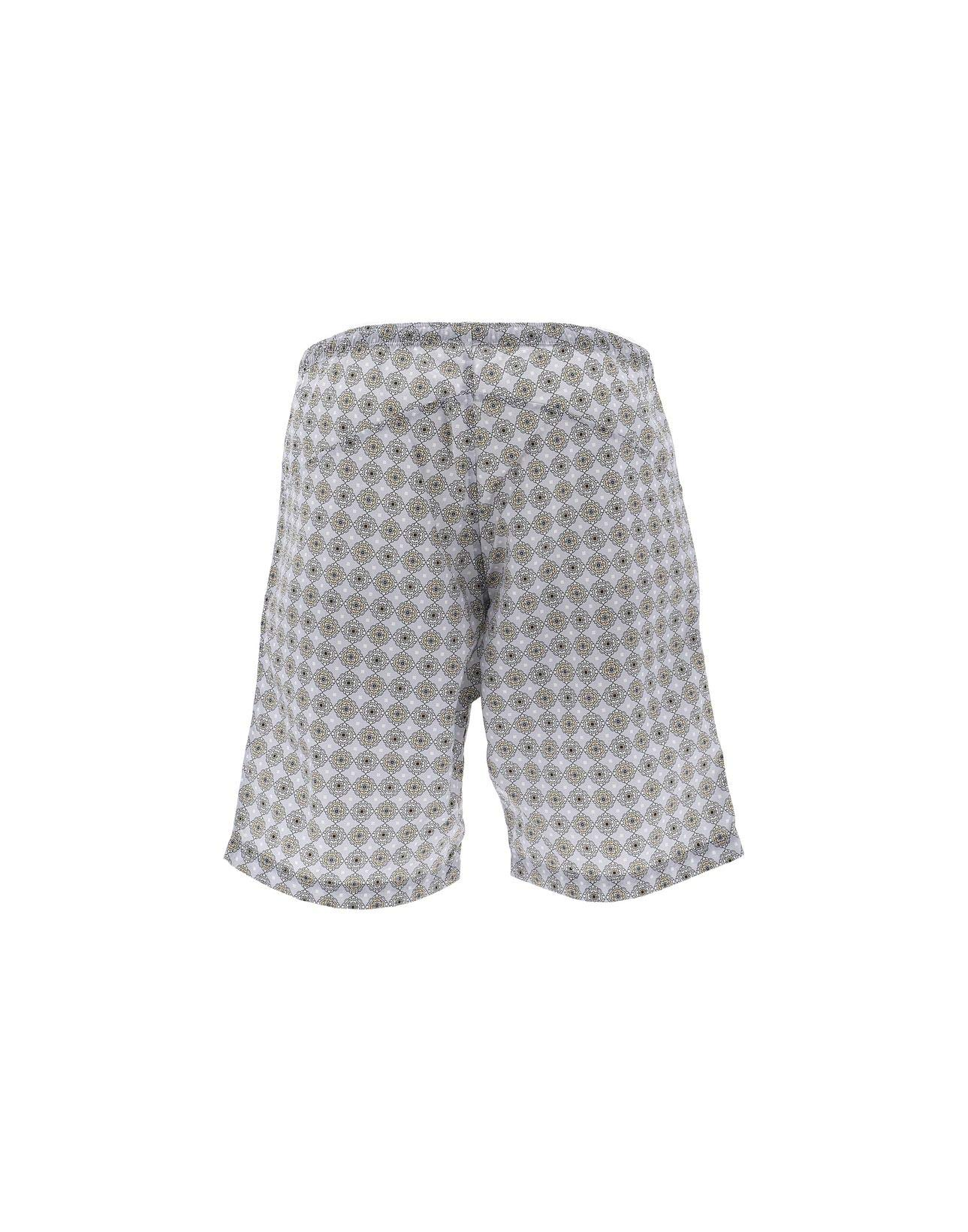 NEEDLES Men's Ej059bltgry Grey Nylon Trunks by NEEDLES (Image #2)