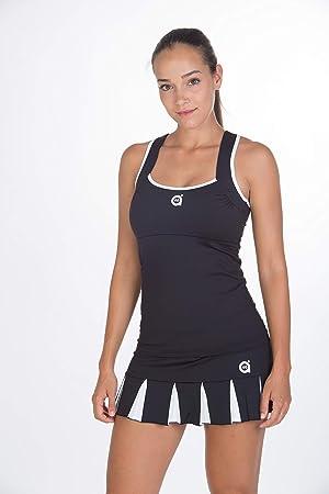 a40grados Sport & Style, Falda Feliz, Mujer, Tenis y Padel (Paddle)