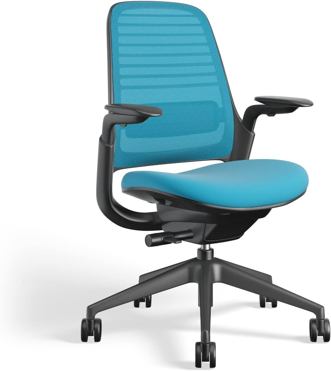 Steelcase Series 1 Work Office chair, Blue Jay