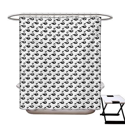 Amazon Com Blountdecor Swan Shower Curtains Sets Bathroom