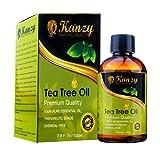 KANZY© - Olio di Albero del Tè - Tea Tree Essential Oil - 100% Pure - 100ml