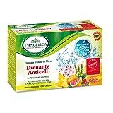L'Angelica - Tisana a Freddo Drenante Anticell, Gusto Ananas e Pompelmo - 2 confezioni da 15 filtri [30 filtri, 60 g]