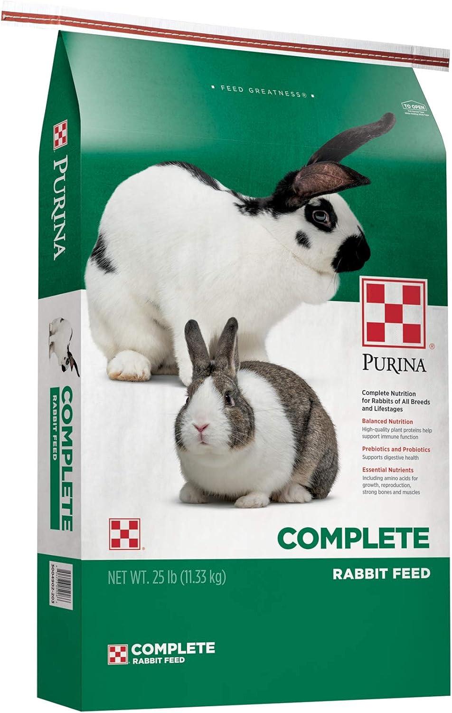 Purina Rabbit Food Complete Pellets, 25 lb