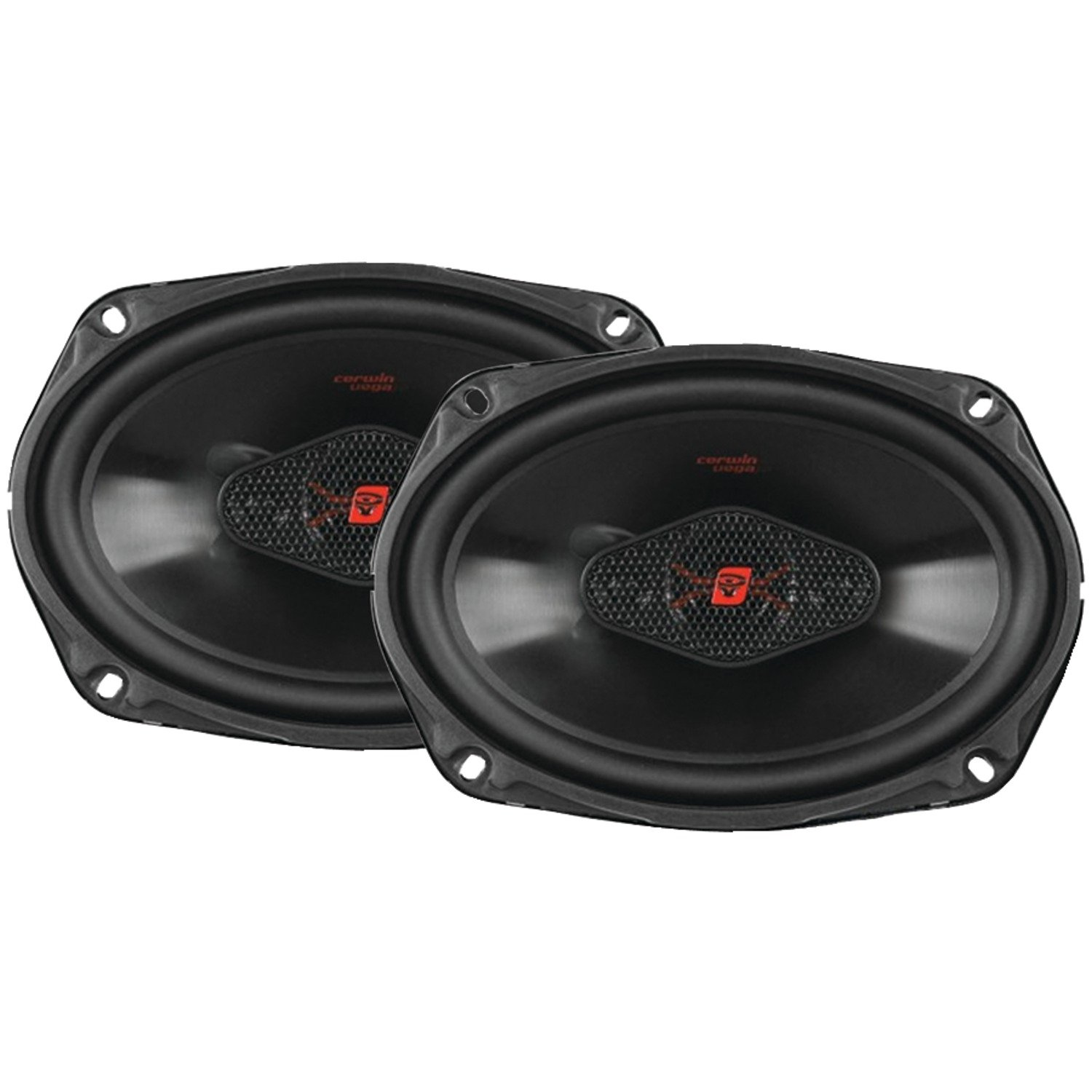 CERWIN VEGA H4694 HED 6-Inch x 9-Inch 440 Watts Max//65Watts RMS Power Handling 4-Way Coaxial Speaker Set