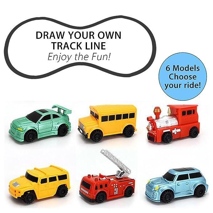 Amazon.com: Inductive Car, PUQU 1pc Smart Magic Pen Inductive Toy ...