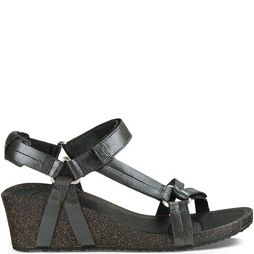 4d432d3d44ad Teva Woman Sandal Ysudro Universal Wedge Metallic  Amazon.co.uk  Shoes    Bags