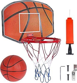 Kids Sports portatile canestro da basket giocattolo Set con supporto a sfera Indoor GAME REGALO