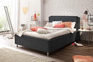 Lifestyle4living Bett Doppelbett Polsterbett Bettgestell