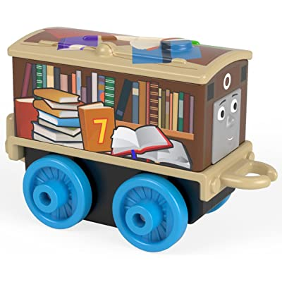 Back To School Library Book Case Toby - Thomas & Friends MINIS Blind Bag Single Train Pack: Toys & Games