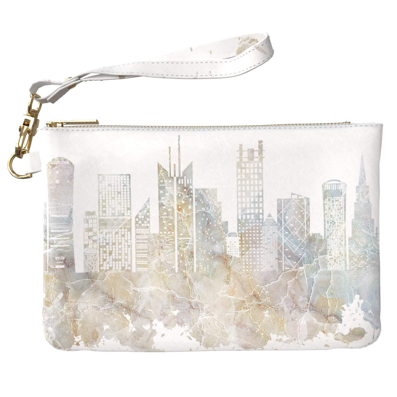 da7c171c4bbc Amazon.com: Lex Altern Makeup Bag 9.5 x 6 inch Marble Cute Pattern ...