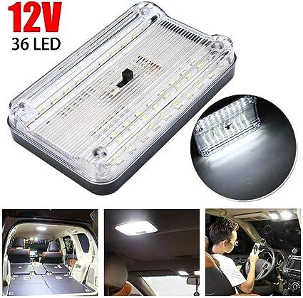 Housesweet - Lámpara de techo de 12 V 36 LED de repuesto para ...