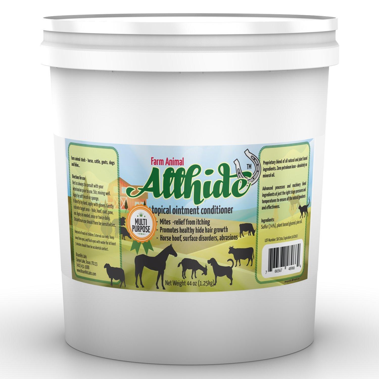 Large Tub - AllHide Live Stock Ointment - Horse, Goat, Cow, Dog, Farm Animal