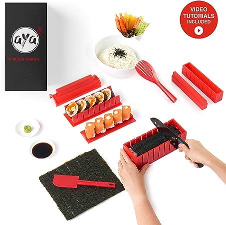 AYA Kit para Hacer Sushi - Equipo para Hacer Sushi Edición ...